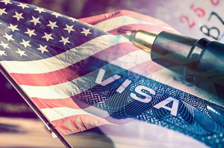 """מסמכים לויזה לארה""""ב"""